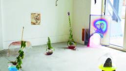 Aïda Bruyère, Impression jet d'encre sur vinyl, autocollant