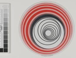 Marcel Duchamp (1887-1968), Rotoreliefs (Disques optiques) 1935-1953 © Agence Albatros Réunion des Musées Métropolitains Rouen Normandie